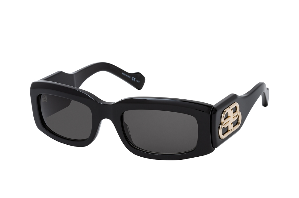 balenciaga -  BB 0071S 001, Rechteckige Sonnenbrille, Damen