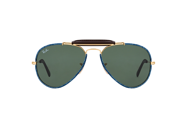 Ray-Ban Aviator Craft RB 3422Q 9194/31 vue en perpective