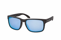 Oakley Holbrook OO 9102 J9 L, Quadratische Sonnenbrille, Herren, polarisiert - Preisvergleich