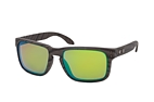 Oakley Holbrook OO 9102 H0 large Brown / Polarised brown perspective view thumbnail