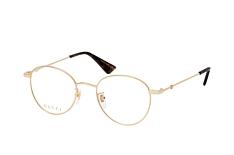 Gucci GG 0607OK 001, inkl. Gläser, Runde Brille, Unisex - Preisvergleich