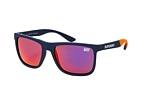 Superdry RUNNERX 165P Blue / Polarised blue perspective view thumbnail
