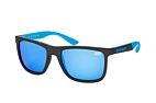 Superdry RUNNERX 165P Black / Blue / Polarised grey perspective view thumbnail
