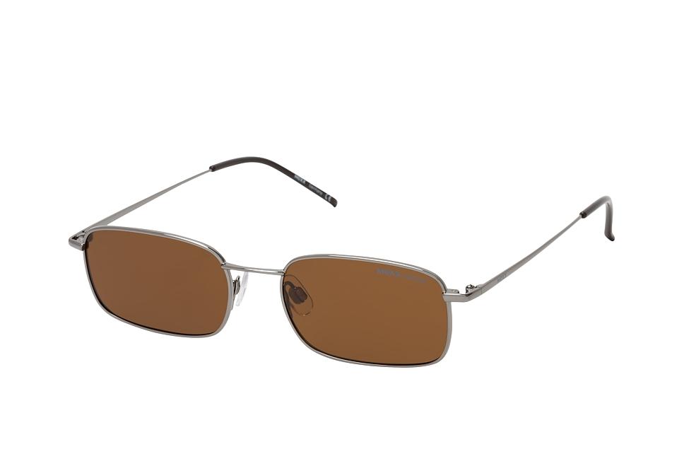 mexx -  6446 101, Rechteckige Sonnenbrille, Herren, polarisiert, in Sehstärke erhältlich