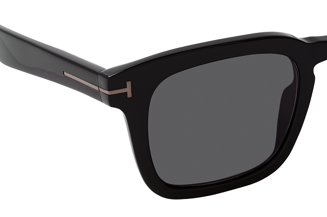 Tom Ford Dax FT 0751-N 01A Perspektivenansicht