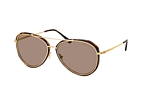 Tom Ford Vittorio FT 0749 54N Havana / Dorado / Marrón perspective view thumbnail