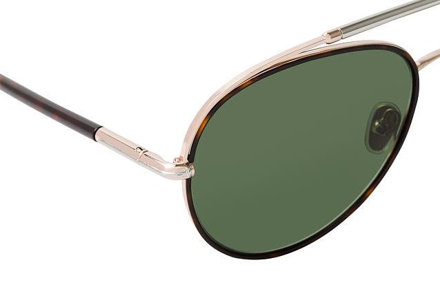 Tom Ford Curtis FT 0748 52N perspective view