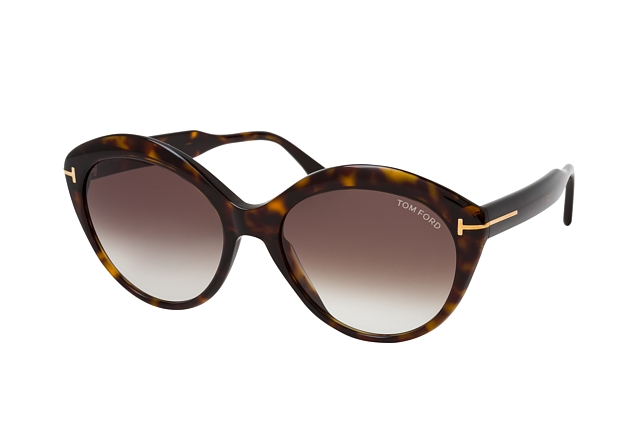 Tom Ford Maxine FT 0763 52K perspective view