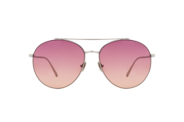 Tom Ford Cleo FT 0757 16F perspective view