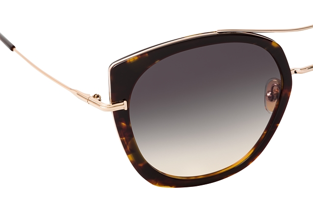 Tom Ford Joey FT 0760 55B vue en perpective