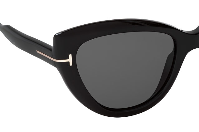 Tom Ford Anya FT 0762 01A Perspektivenansicht