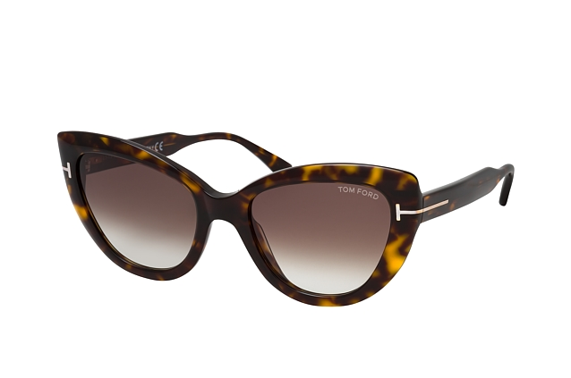 Tom Ford Anya FT 0762 52K perspective view