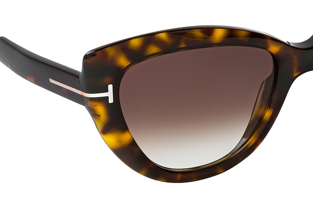 Tom Ford Anya FT 0762 52K Perspektivenansicht