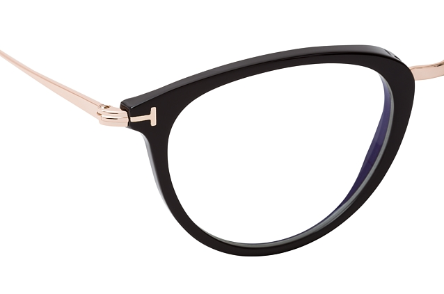 Tom Ford FT 5640-B 001 perspective view