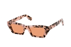 Kenzo KZ 40021 I 55Y Havana / Pink / Brown perspective view thumbnail