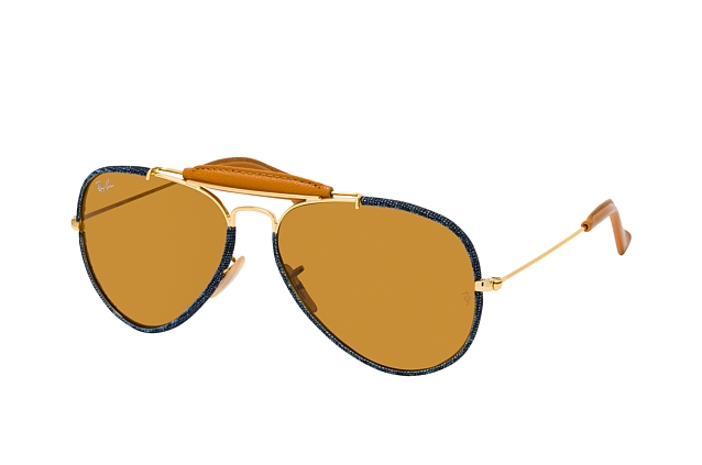 Ray-Ban Aviator Craft RB 3422Q 919233 Perspektivenansicht