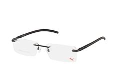 Puma PU 0022O 009, inkl. Gläser, Rechteckige Brille, Herren - Preisvergleich