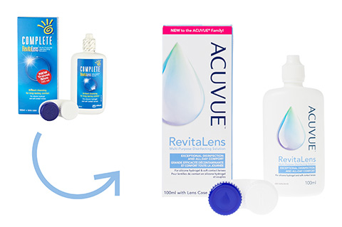 Acuvue RevitaLens 100ml vista frontal
