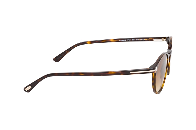Tom Ford Andrea-02 FT 0539/S 52F vista en perspectiva