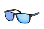 Oakley Holbrook XL OO 9417 01 Black / Purple perspective view thumbnail
