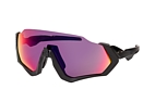 Oakley Flight Jacket OO 9401 01 Schwarz / LilaPerspektivenansicht Thumbnail