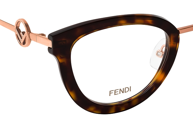 Fendi FF 0417 2IK perspective view