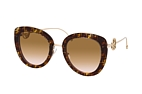 Fendi FF 0409/S FWM Havana / Gold / Brown perspective view thumbnail