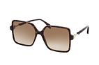 Fendi FF 0411/S 086 Havana / Brown perspective view thumbnail