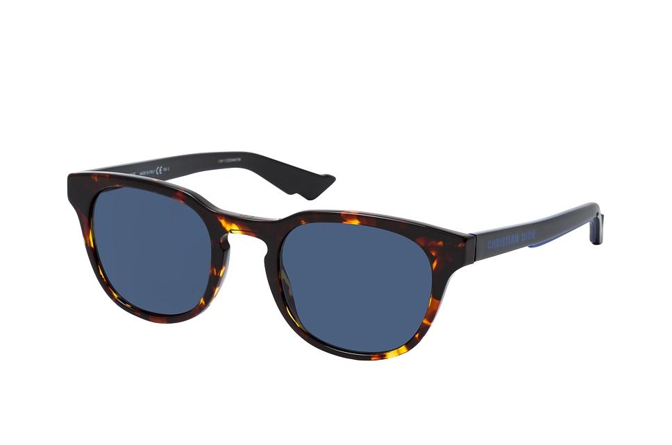 dior -  B24.2 EPZ, Runde Sonnenbrille, Herren