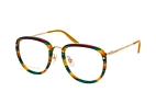 Gucci GG 0675O 001 Green / Havana / Gold perspective view thumbnail