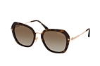 Tom Ford Kenyan FT 0792 52H Havana / Gold / Brown perspective view thumbnail