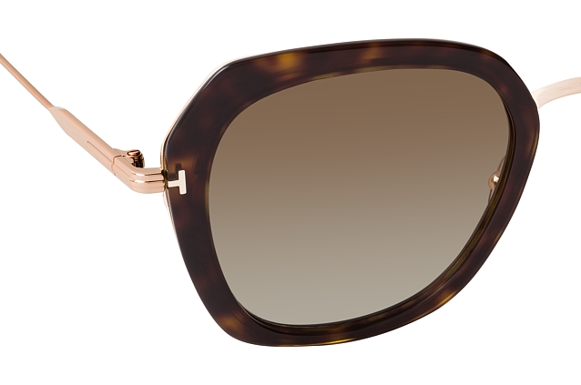 Tom Ford Kenyan FT 0792 52H perspective view