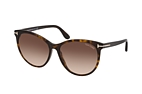 Tom Ford Maxim FT 0787 01B Havana / Brown perspective view thumbnail