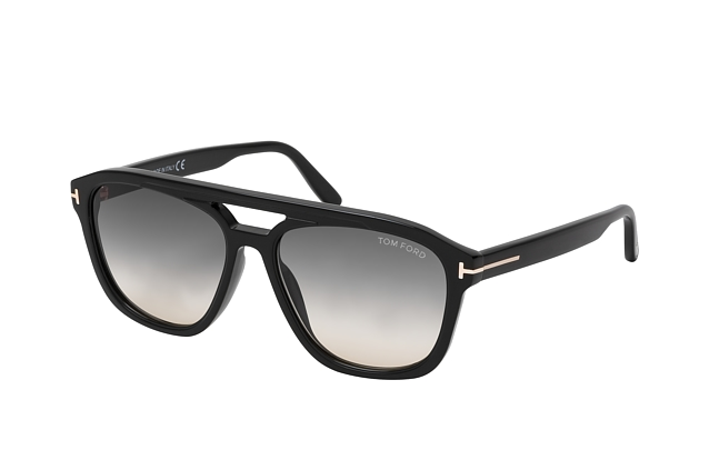 Tom Ford Gerrard FT 0776 01B perspective view