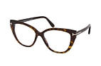 Tom Ford FT 5673-B 005 Havana perspective view thumbnail
