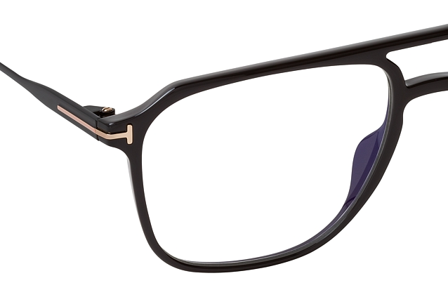 Tom Ford FT 5665-B 001 perspective view