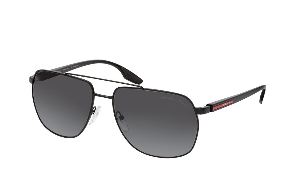 prada linea rossa -  PS 55VS 1BO5W1, Aviator Sonnenbrille, Herren, polarisiert