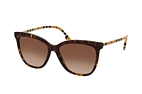 Burberry BE 4308 3853T3 Havana / Beige / Brown perspective view thumbnail