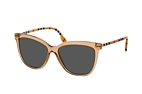 Burberry BE 4308 3853T3 Brown / Grey perspective view thumbnail