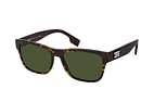 Burberry BE 4309 353671 Havana / Verde perspective view thumbnail
