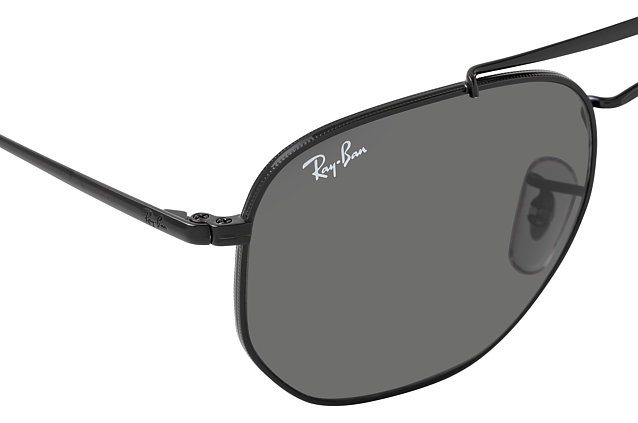 Ray-Ban The Marshal RB 3648 002/B1 Perspektivenansicht
