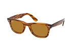 Ray-Ban Wayfarer RB 4340 6397/3M Havana / Marrón perspective view thumbnail