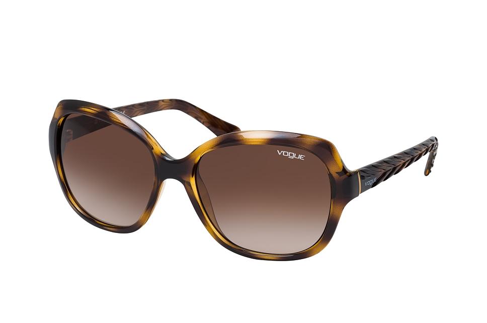 vogue eyewear -  VO 2871S W65613, Cat Eye Sonnenbrille, Damen, in Sehstärke erhältlich