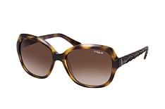 VOGUE Eyewear VO 2871S W65613, Cat Eye Sonnenbrille, Damen, in Sehstärke erhältlich - Preisvergleich