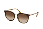 Burberry BE 4316 38998G Havana / Brown / Brown perspective view thumbnail