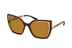Dolce&Gabbana DG 6138 32736H Brown / Brown perspective view thumbnail