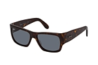 Ray-Ban Nomad RB 2187 954/33 Havana / Azul perspective view thumbnail