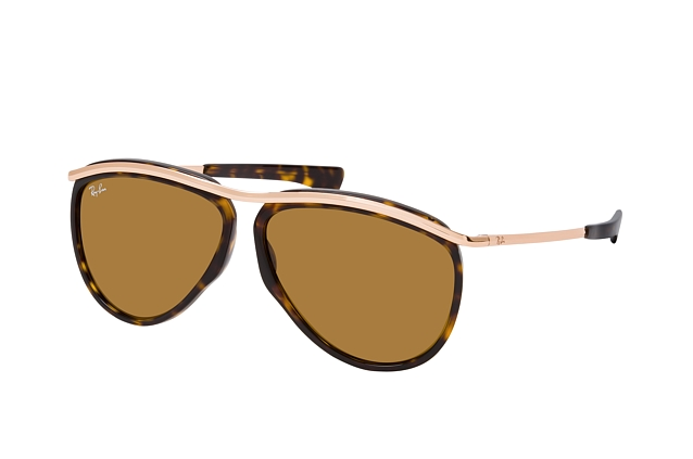 Ray-Ban Olympian Avia. RB 2219 130933 Perspektivenansicht