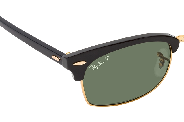 Ray-Ban Clubmst. Square RB 3916 130358 perspective view