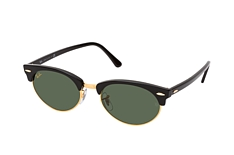 Ray-Ban Clubmaster Oval RB 3946 130331 klein